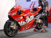 Casey Stoner's Ducati Desmosedici GP8