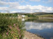 Hollingworth Lake, taken from the north shore