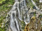 powerscourt waterfall,wicklow,Ireland.