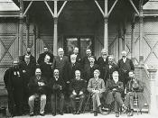 Final meeting of the Federal Council of Australasia in 1899.