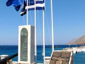 English: Monument commemorating the evacuation by navy warships of British and ANZAC troops after the Battle of Crete in May 1941.