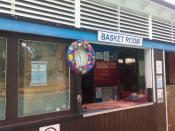 English: The innovative basket room
