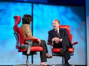 Kara Swisher and John Chambers