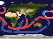 """On the basis of File:Thermohaline circulation.png, addition of emphasis on granda nordpacifika rubokirlo (""""Great Pacific Garbage Patch"""") - More convenient versions are welcome!"""