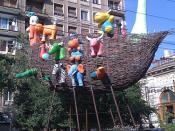 Noé bárkája Bukarestben