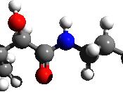 English: Pantothenic acid 3D structure