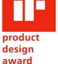 The iF Product Design Award label (2007) as it used in conjunction with awarded products.