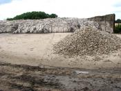 English: Lime fertiliser deposited on concrete hardstand Lime is added to the soil in order raise the pH, lower the acidity or 'sweeten' the soil. Sulphate of ammonia or urea, both high on nitrogen, are fertilisers used to increase.