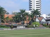 The Royal Selangor Club, Merdeka Square, Kuala Lumpur, Malaysia.