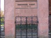 English: Immanuel Kant Tomb in Koenigsberg Русский: Могила Иммануила Канта в Калининграде (Кёнигсбреге)