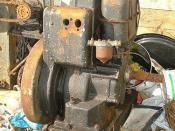 Lister diesel engine