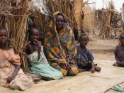 Internally displaced persons' camp