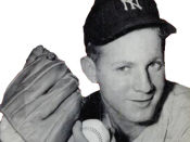 English: New York Yankees pitcher Whitey Ford in a 1954 issue of Baseball Digest.