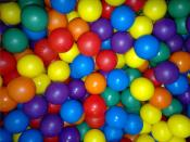 Toy balls with different Colors