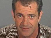 Mugshot of Mel Gibson taken on 28 July 2006.