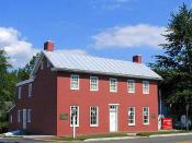 English: Levi Coffin's home in Fountain City, Indiana, formerly Newport. Used to hide slaves in the Underground Railroad, known as Grand Central Station of the Underground Railroad. Bought by state of Indiana in 1967, open to public viewing. Category:Unde
