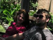 Beata & Dawid at park