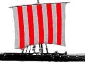 Model of a typical Viking Longship.