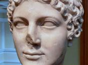 English: Head of Agrippina the Younger (Roman, c. AD 50) - Wife of Claudius, mother of Nero.