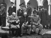 February 4–11: Yalta Conference