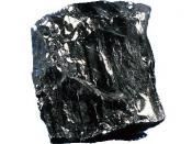 Anthracite coal, a high value rock from eastern Pennsylvania.