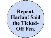Design for button RE Harlan Ellison/Connie Willis incident