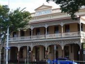 Childers Palace Backpackers Hostel, Childers, Qld.