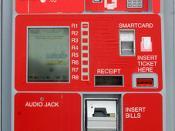 RTA Ticket Vending Machine