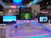 CES 2012 - Hisense