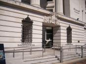 Baskerville House - entrance