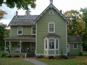 English: Beautiful lovely Victorain house in Gravenhurst welcomes visitors from all over the world.