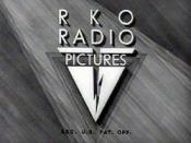 Classic closing logo of RKO Radio Pictures