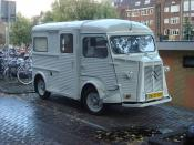 English: Citroën H Van in Amsterdam