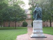Deutsch: College of William and Mary in Williamsburg (Virginia)