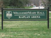 English: William & Mary Hall at the College of William & Mary in Williamsburg, Virginia, USA.