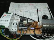 433mhz radio 4 channel remote control
