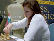 English: Judit Polgar, chess grandmaster from Hungary