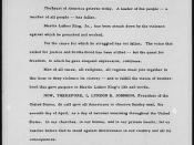 Presidential Proclamation 3839 of April 5, 1968, by President Lyndon B. Johnson designating Sunday, April 7, 1968, as a day of national mourning for Martin Luther King, Jr., 04/05/1968 (page 1 of 2)