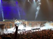 English: Iron Maiden perform in Toronto, March 16, 2008.