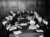 The Canadian Delegation to the United Nations Conference on International Organization, San Francisco, May 1945.