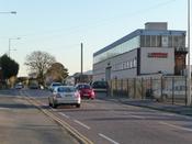 English: Poole : Fleets Lane Fleets Land and Cryovac Sealed Air Corporation.