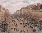 Boulevard Monmartre in Paris