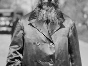English: Rabbi Abraham Isaac Kook (1865-1935) עברית: אברהם יצחק הכהן קוק