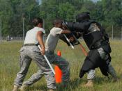 Non-Lethal Weapons Training