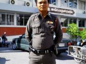 Royal Thai Police officer