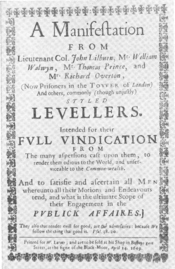 Levellers' Manifest
