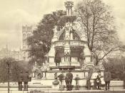 Glasgow. Stewart Memorial Fountain, West End Park (now Kelvingrove)