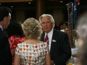 Bob Hawke at the apology to the Stolen Generations