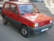 First generation Fiat Panda.