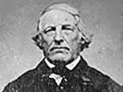 The only known image of Samuel Wilson, who is thought to be one of the likely origins for the figure of Uncle Sam.